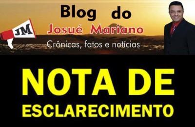 CAPA - NOTA DE ESCLARECIMENTO